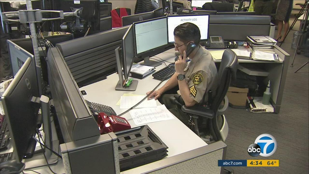 Analysts investigate potential threats on social media as part of a new unit launched by the Los Angeles County Sheriffs Department.