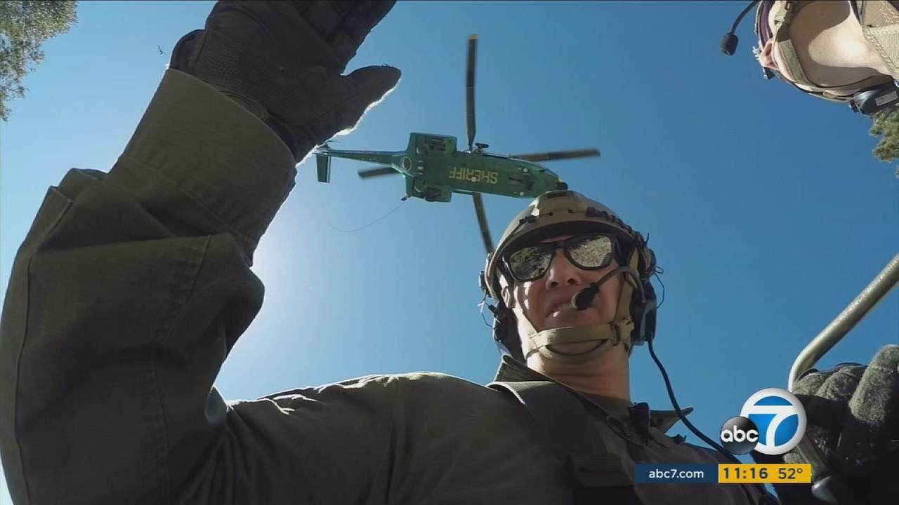 Comprised of volunteers, search and rescue teams in Los Angeles County undergo rigorous training to save lives.