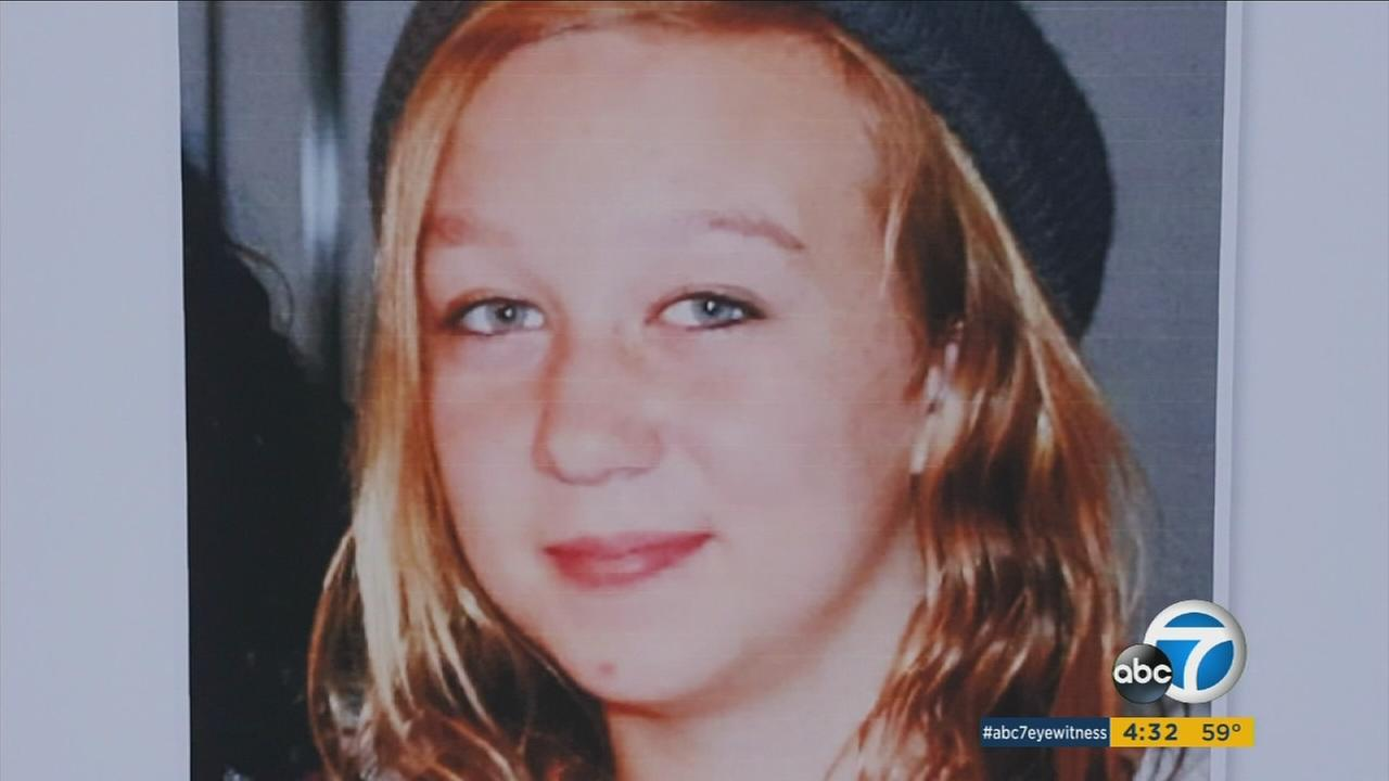 Desiree Lawson, 15, is seen in a family photo released by the Los Angeles County Sheriffs Department.