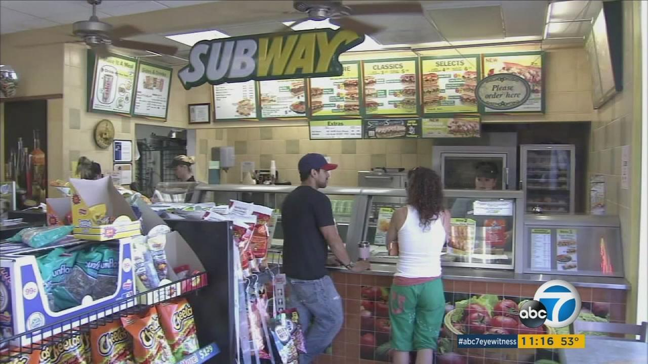 Chicken samples at several Canadian Subway restaurants were only half chicken, according to a new study.