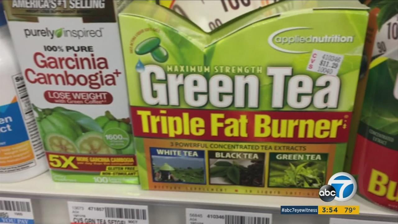 Green tea extract powder is shown in a file photo.