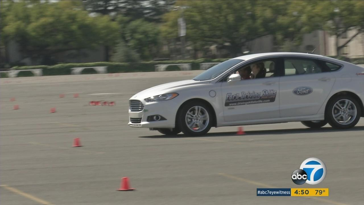 The Ford Motor Fund is providing a free course for safe driving for teens and adults in Arcadia.