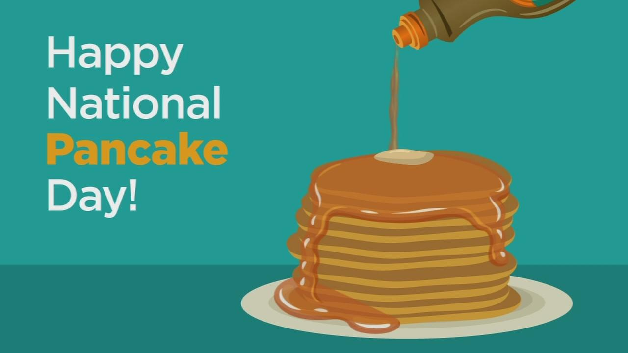 Here are some fun facts about National Pancake Day!