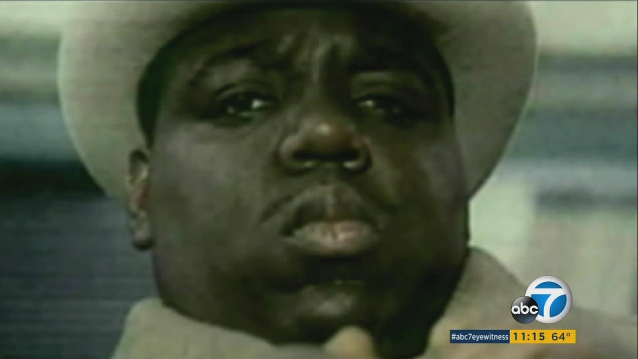 Biggie Smalls, also know as Notorious B.I.G, is shown in an undated photo.