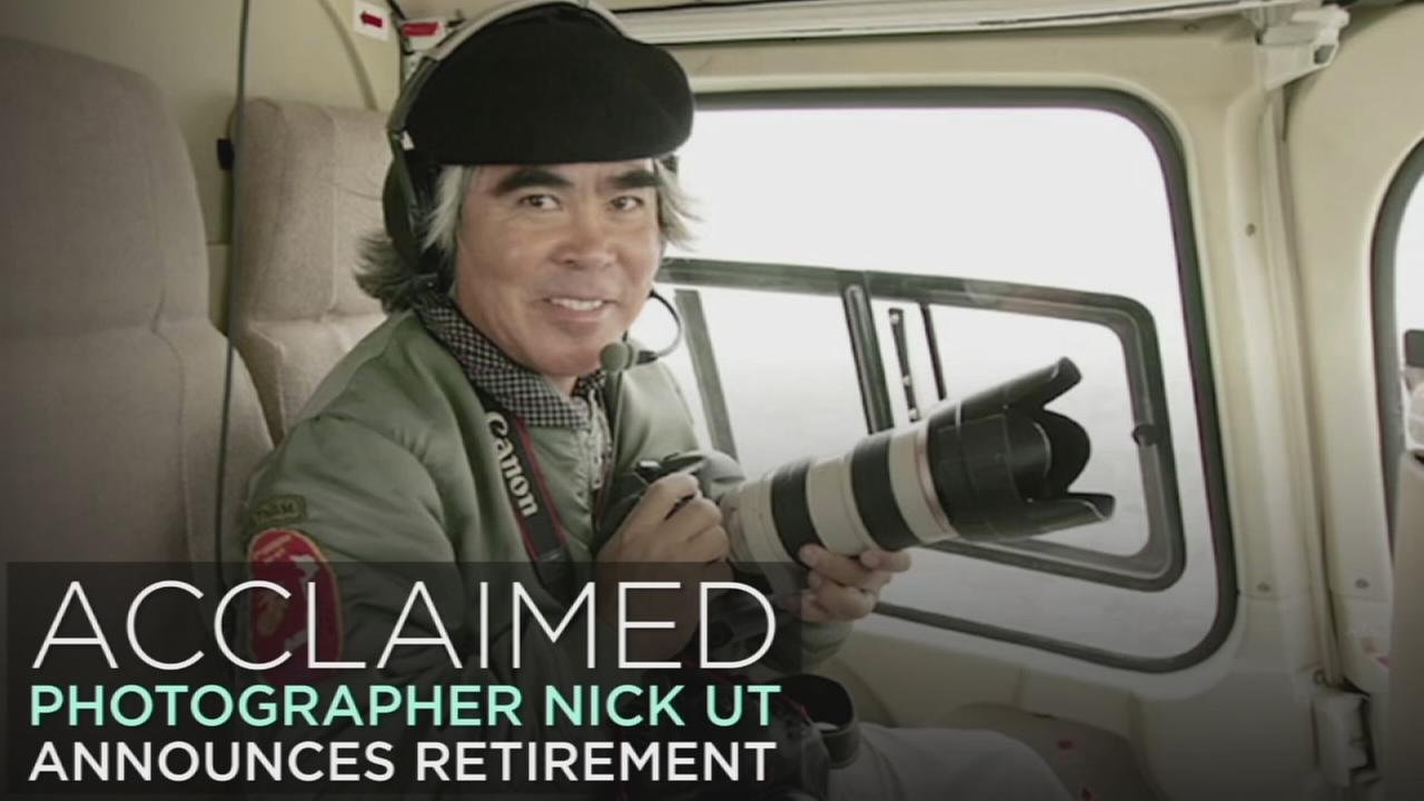Acclaimed photographer Nick Ut is seen in an undated photo.