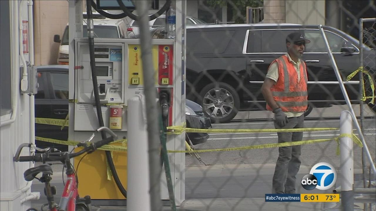 Bad fuel at a Tarzana gas station may have been caused by heavy winter rains, according to inspectors.