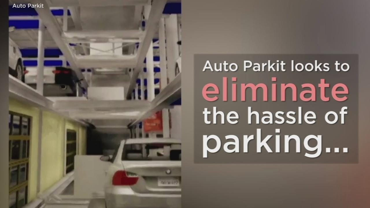 Auto Parkit looks to eliminate many of the hassles of parking through with their fully automated car garages.