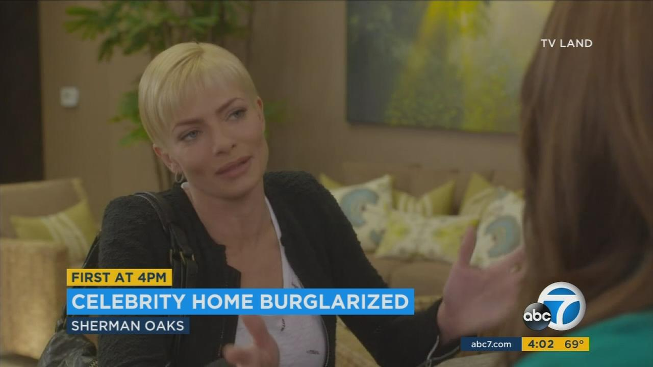 Los Angeles police on Saturday confirmed a burglary happened at a Sherman Oaks home owned by actress Jaime Pressly.