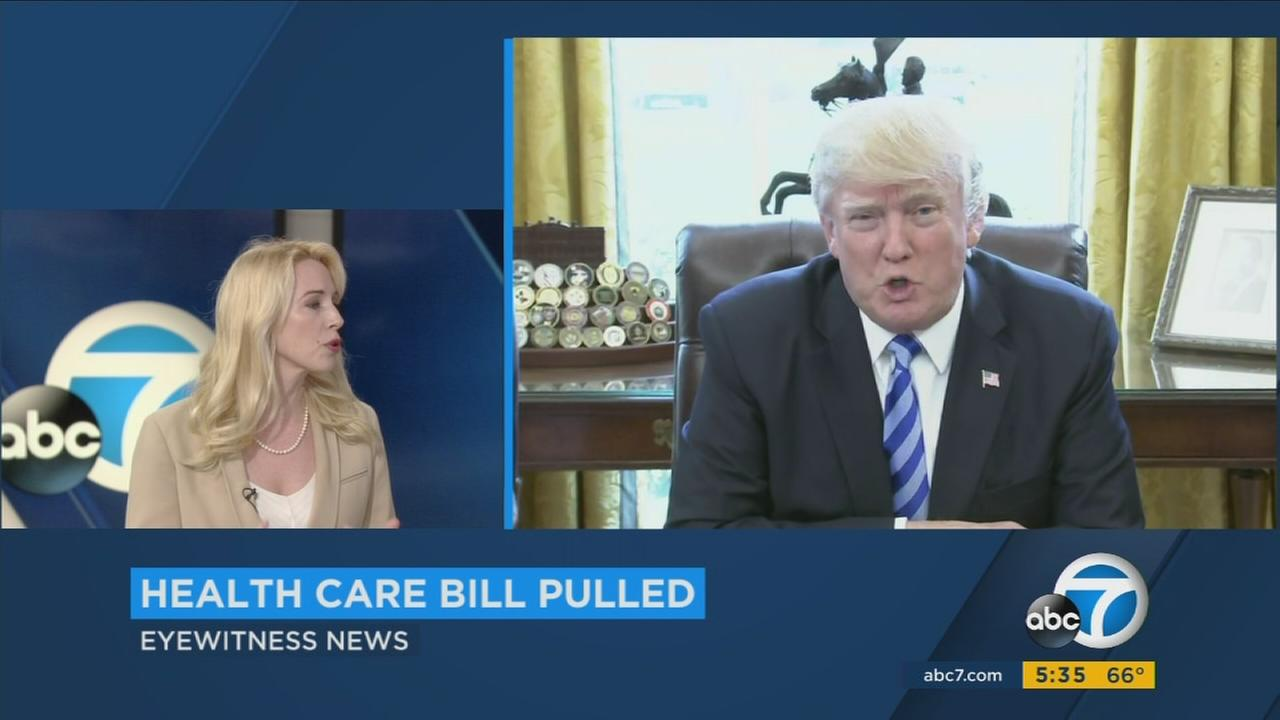 Dr. Caroline Heldman explains whats next after the Republicans health care bill was pulled from consideration.