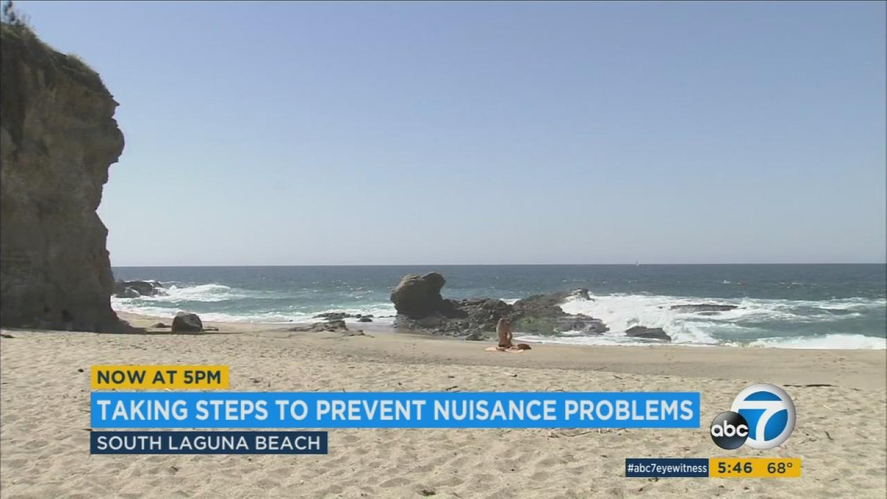 South Laguna Beach is hoping to maintain its coastal beauty and serenity by cracking down on behavior of unruly visitors.