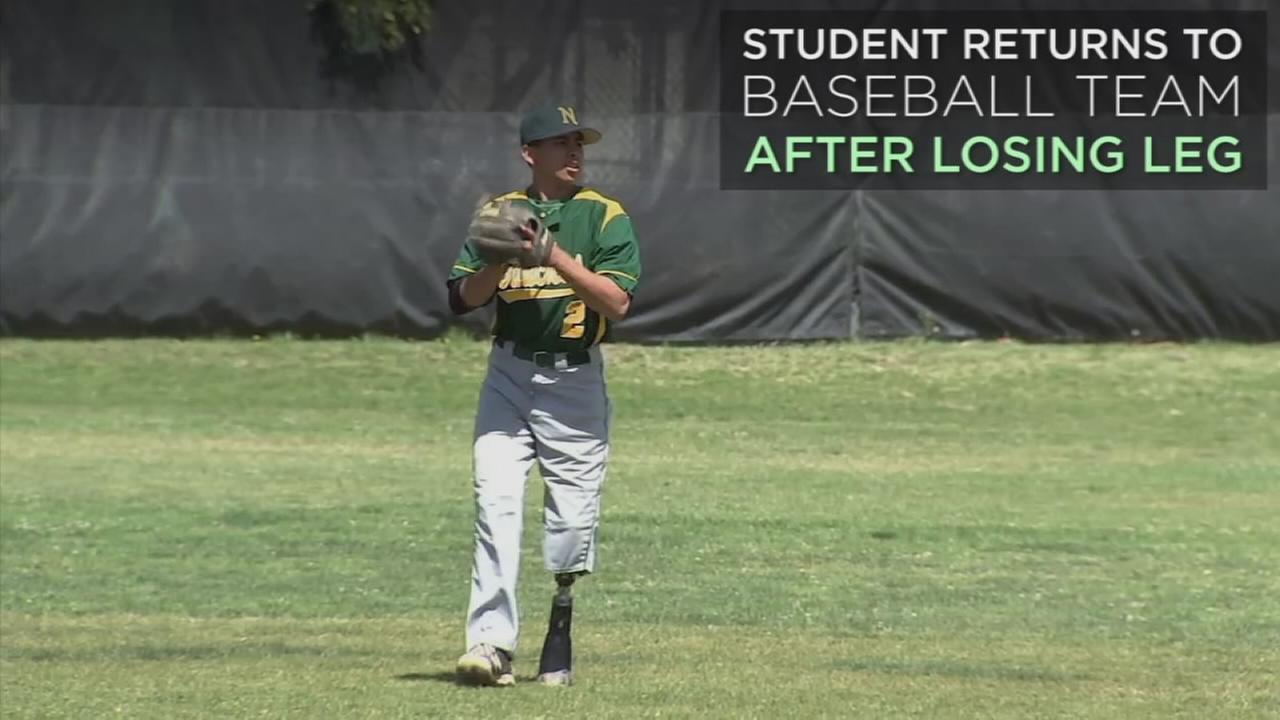 Ruben Marin is shown pitching during practice at Narbonne High School.