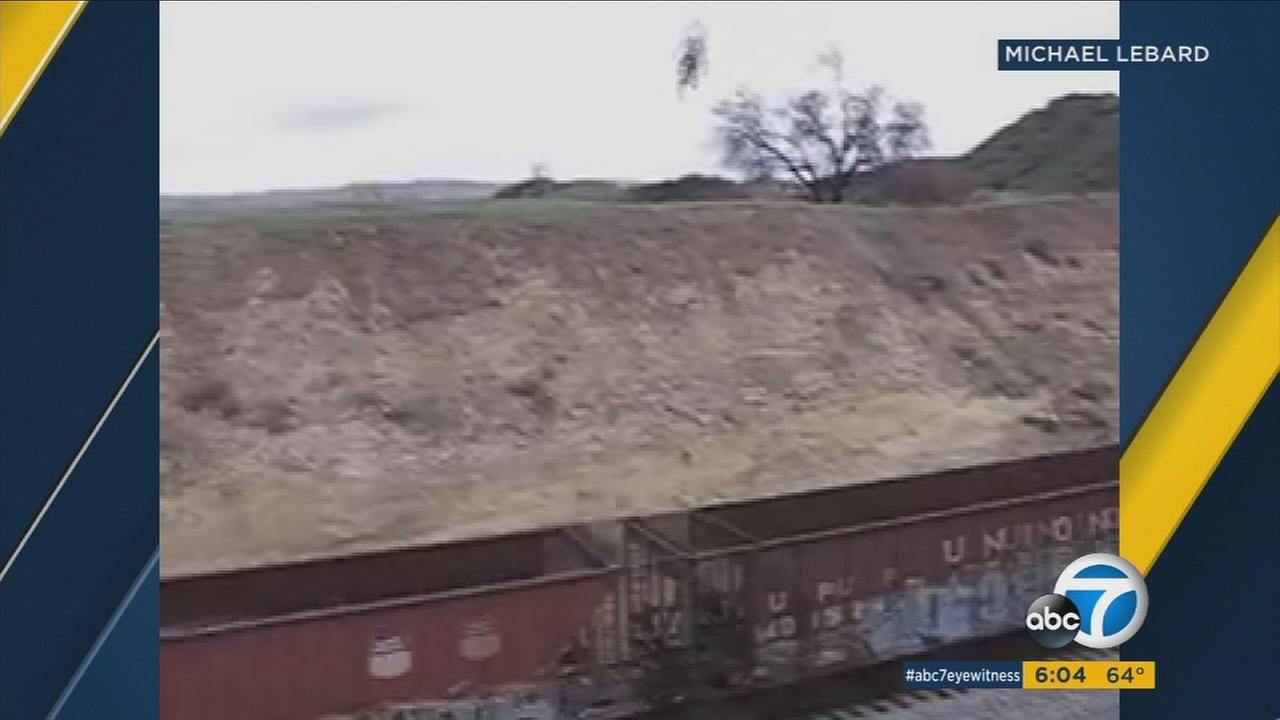 A former pro motocross rider says the man in that video is the same 24-year-old who was critically injured this weekend in Simi Valley trying to ride his dirt bike up a hill and over some railroad tracks.
