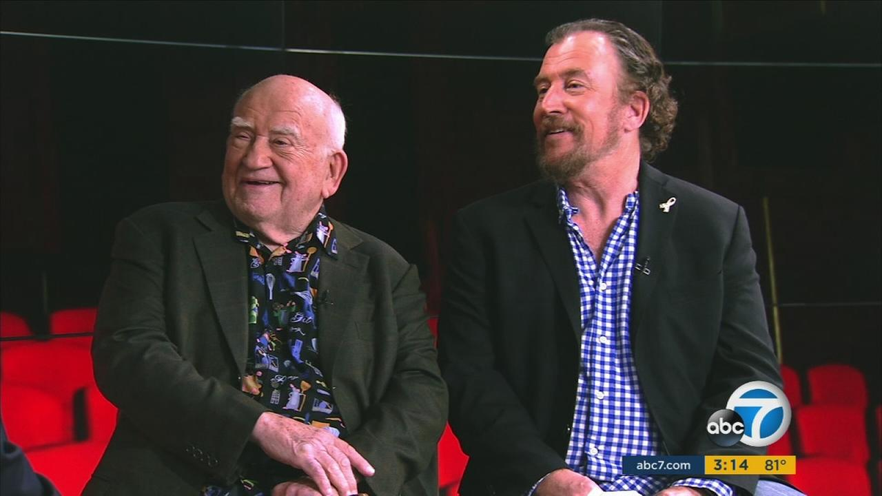 Legendary actor Ed Asner has partnered with his son on an autism film festival to support those with the condition.