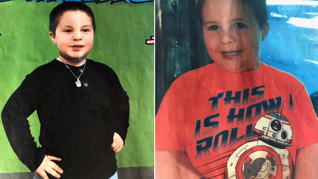 Aramazd Andressian, 5, is shown in two undated photos provided by South Pasadena police.