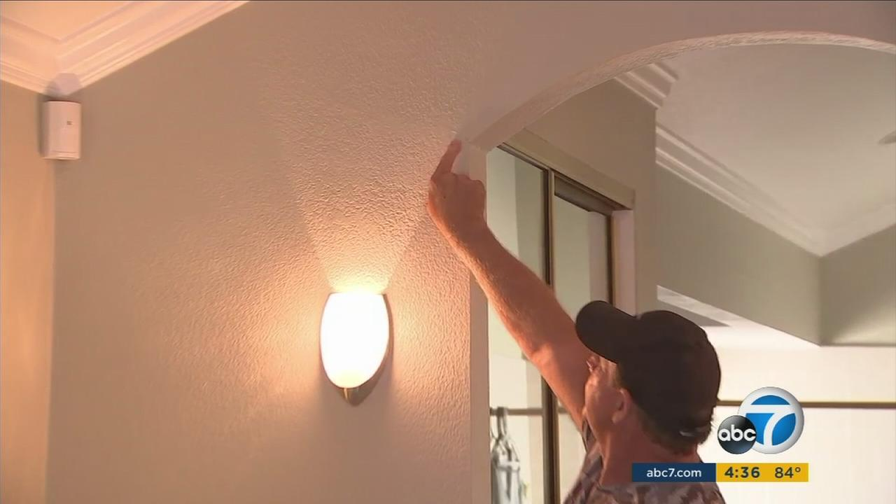 Homeowners said a construction project along the 5 Freeway in San Clemente damaged their homes.