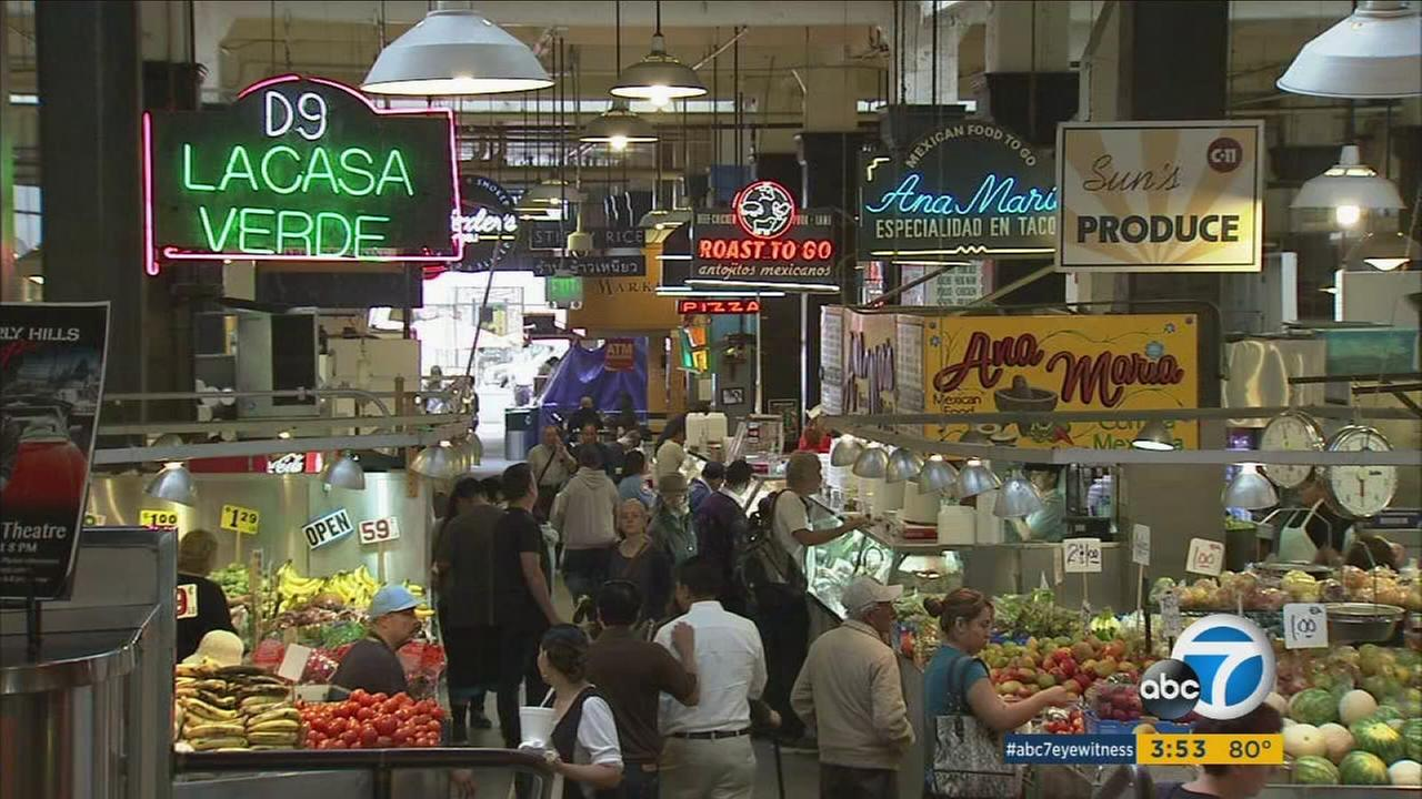 The Grand Central Market in Los Angeles is seen in this undated file photo.