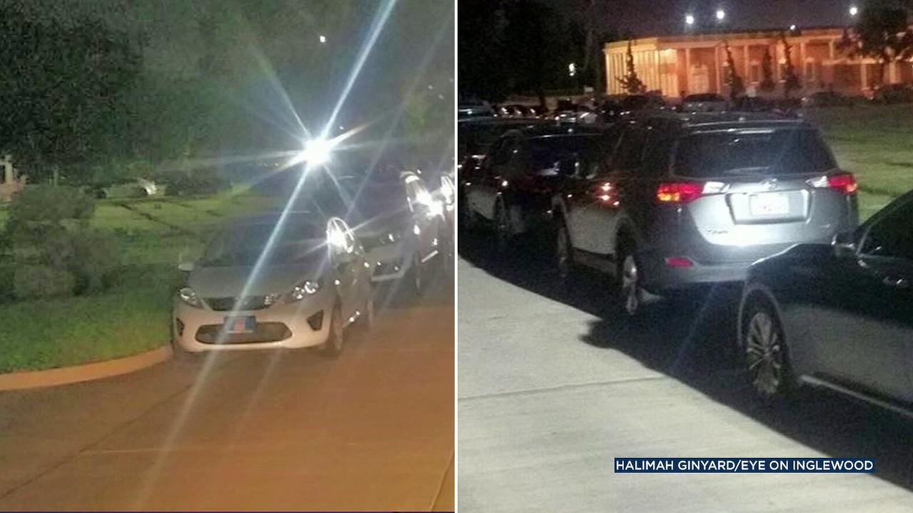 Outrage was sparked after Forum concertgoers were allowed to park at the Inglewood Park Cemetery due to overflow.
