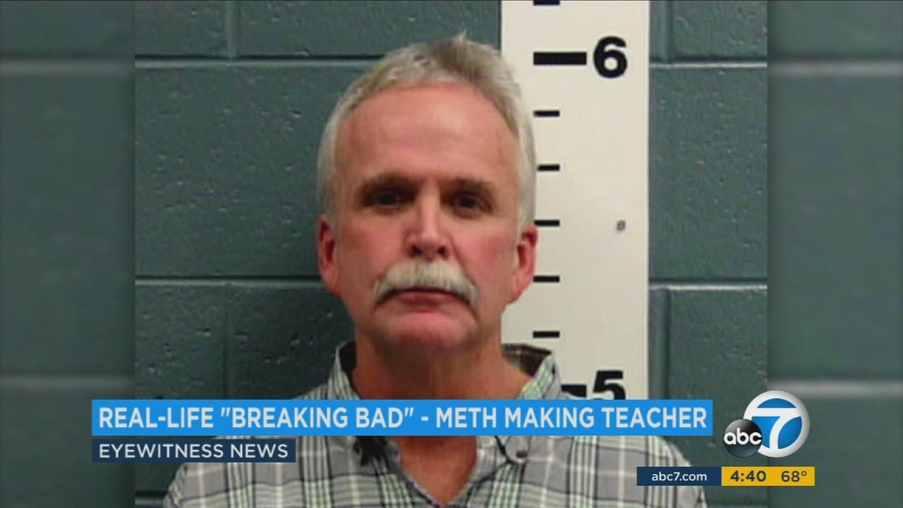 New Mexico chemistry teacher John Gose pleaded guilty to manufacturing meth.
