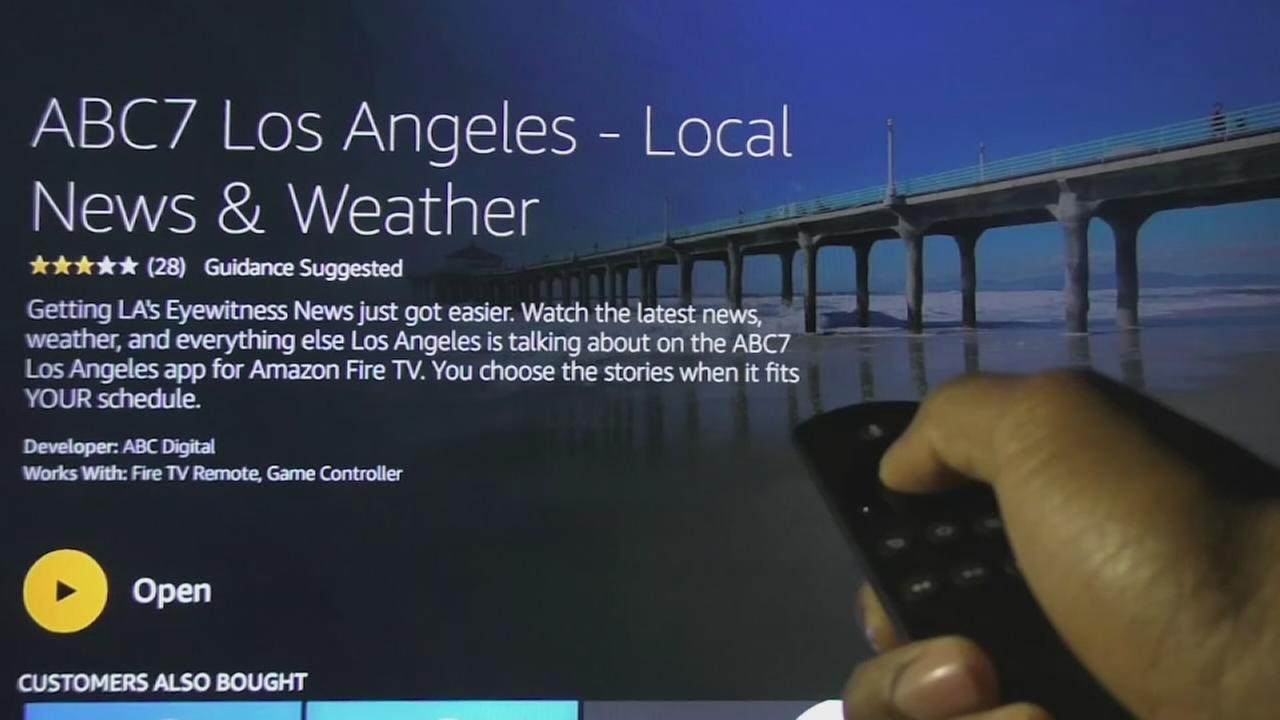 ABC7 is now available on Amazon Fire TV, a streaming media player that connects directly into your television set.