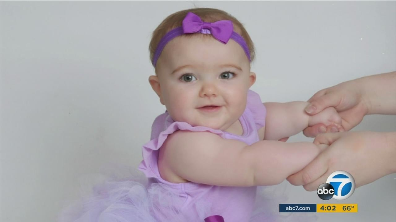 Addison Watkins, 7 months old, is shown in an undated photo.