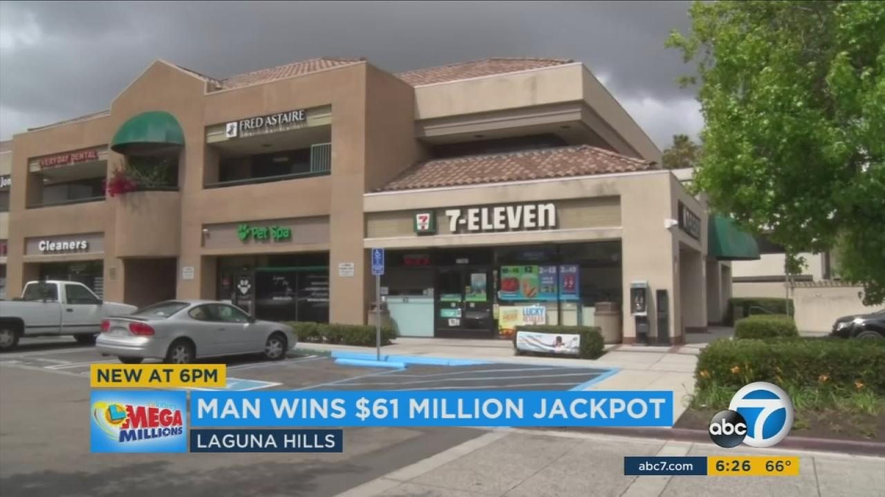 An Orange County man can likely afford a lifetime of Slurpees after he hit it big with a lottery ticket at a local 7-Eleven.