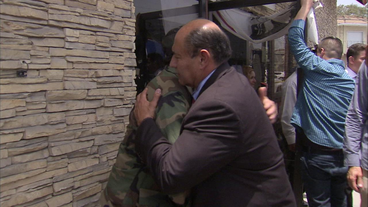 Lawmakers meet with deported veterans in Tijuana, Mexico.