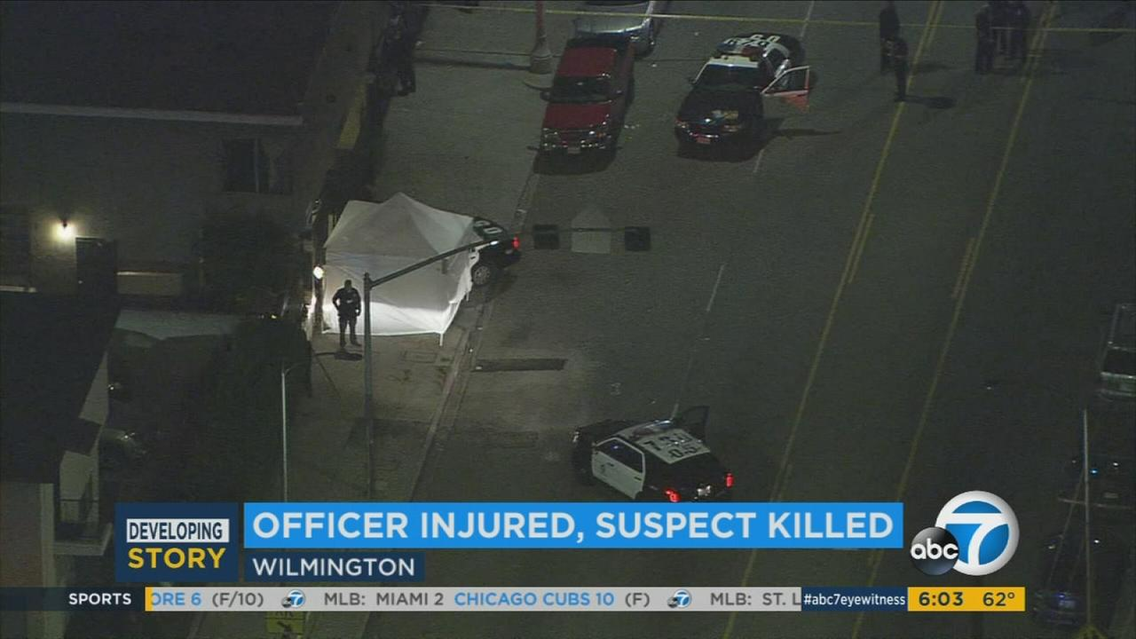 An officer-involved shooting occurred Tuesday, June 6, 2017, in Wilmington, the Los Angeles Police Department said.