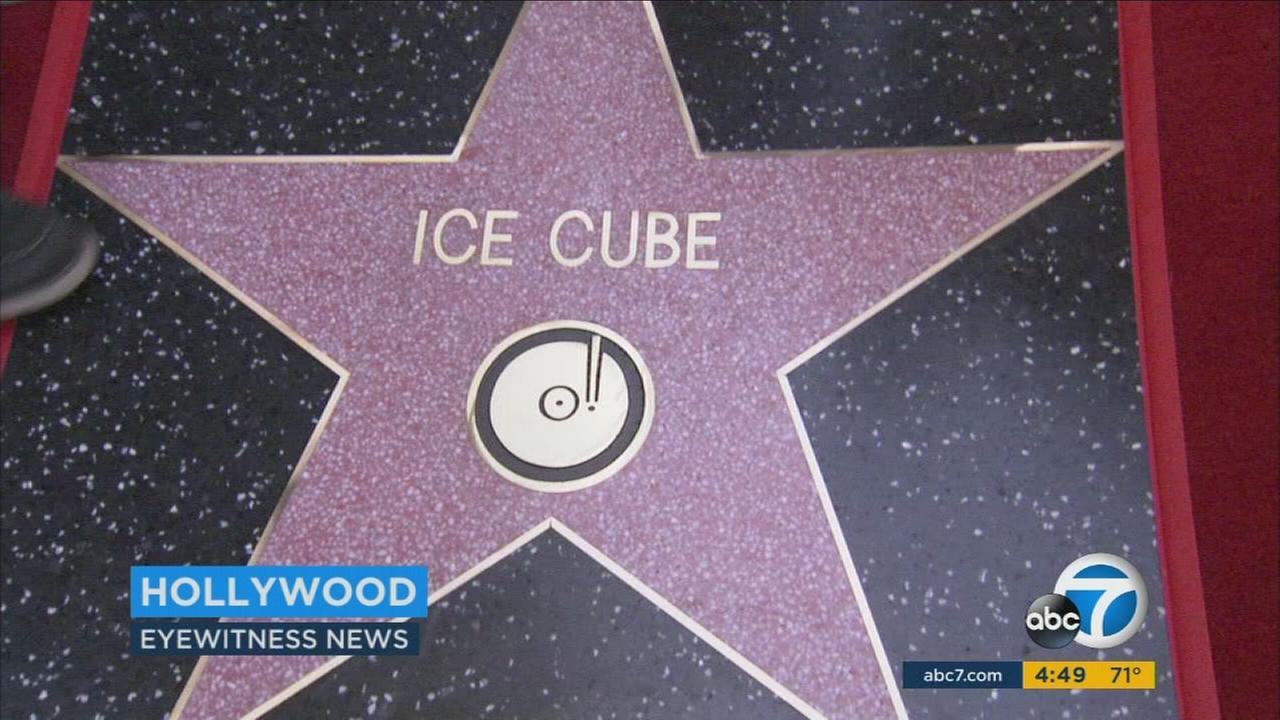 Ice Cube thanked his family for always supporting him throughout his lengthy career.