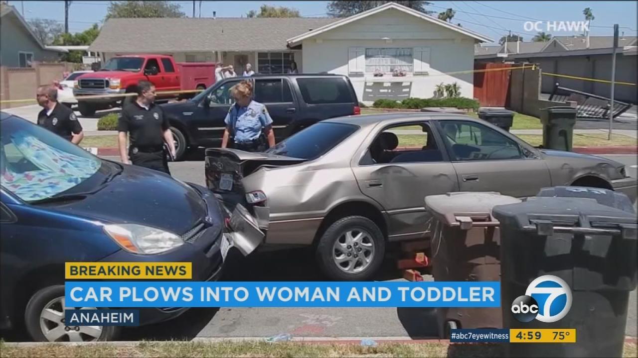 Anaheim Car Crash