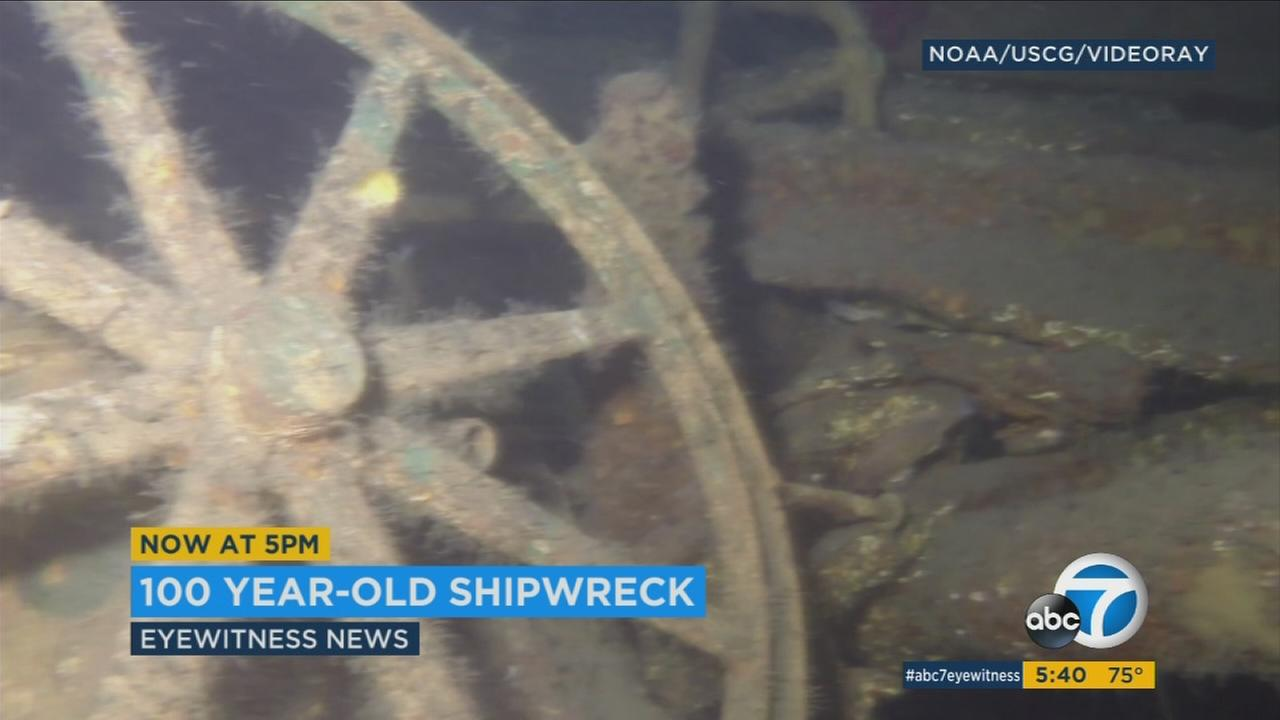 Researchers have discovered the remains of a historic ship off the coast of Southern California.