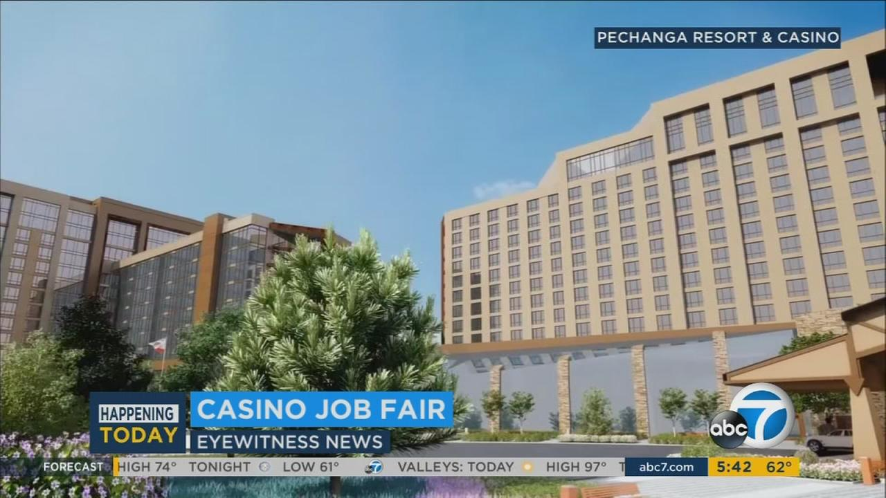 If youre looking for work, head out to Temecula. A big job fair is set for Thursday and Friday at Pechanga Resort and Casino.