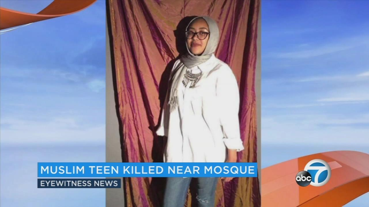Nabra Hassanen, 17, is seen in an undated file photo.