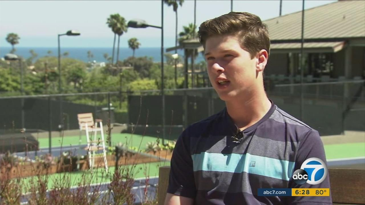 At 16, Will Weinbach is a tennis star, on-camera host, social media star and successful online entrepreneur.