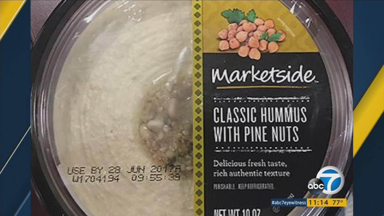 Three brands -- marketed as from Fresh Foods Market, Lantana and Marketside -- have pine nuts on top and come in 10-ounce packages.