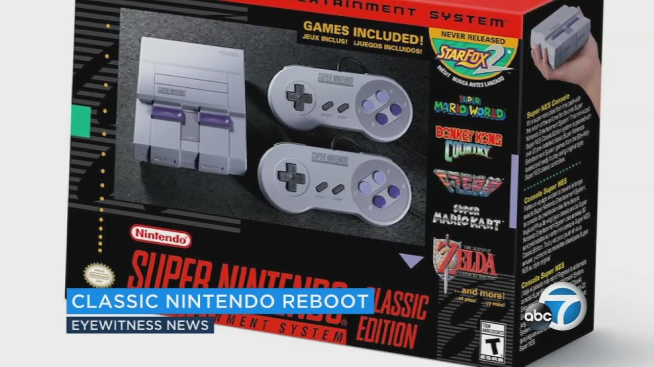 Gamers everywhere, rejoice: Nintendo is releasing a version of the classic Super Nintendo Entertainment System this year.