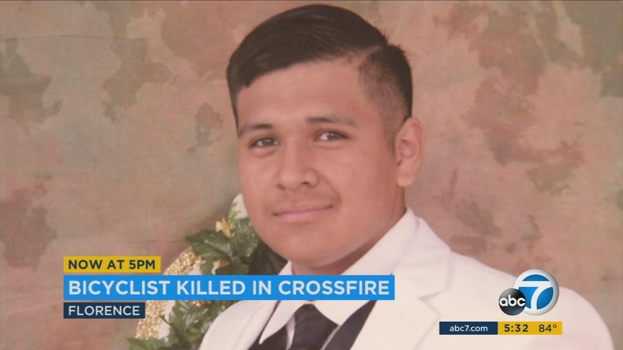 An undated photo of 17-year-old Jonathan Salas, who was shot and killed Friday, June 23, 2017.