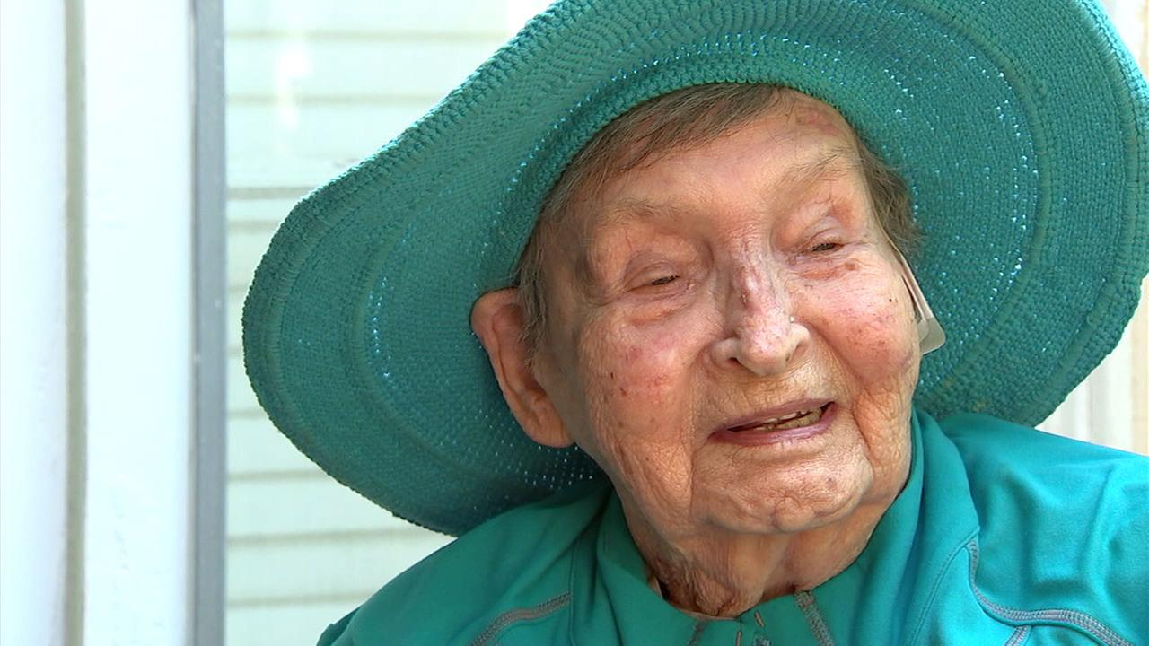A Brentwood woman survived insurmountable odds to reach her 100th birthday.