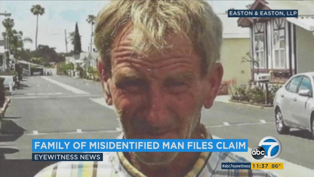 The family of a man who was mistakenly told he was dead has filed a $2 million lawsuit against Orange County.