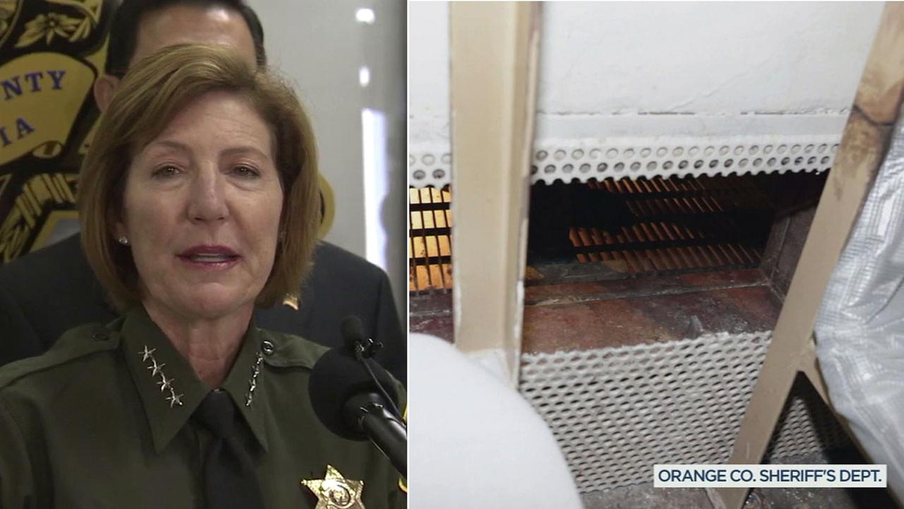 OC Sheriff Sandra Hutchens announced her retirement Tuesday, June 27, 2017, the same day a report alleging abuse in Orange County jails was released.