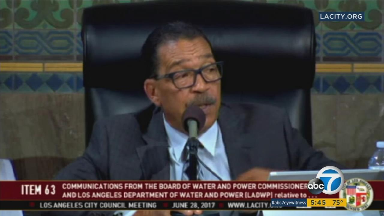 Some members of the Los Angeles City Council were unhappy about the alleged secrecy behind the approval of a new contract giving raises to Department of Water and Power employees.