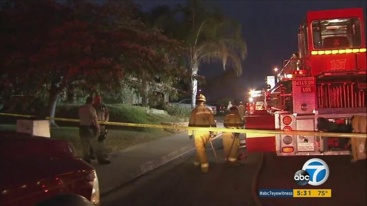 A man in his 60s was killed early Thursday morning in a Diamond Bar house fire that prompted an investigation by the L.A. County Sheriffs Departments Arson/Explosives Detail.