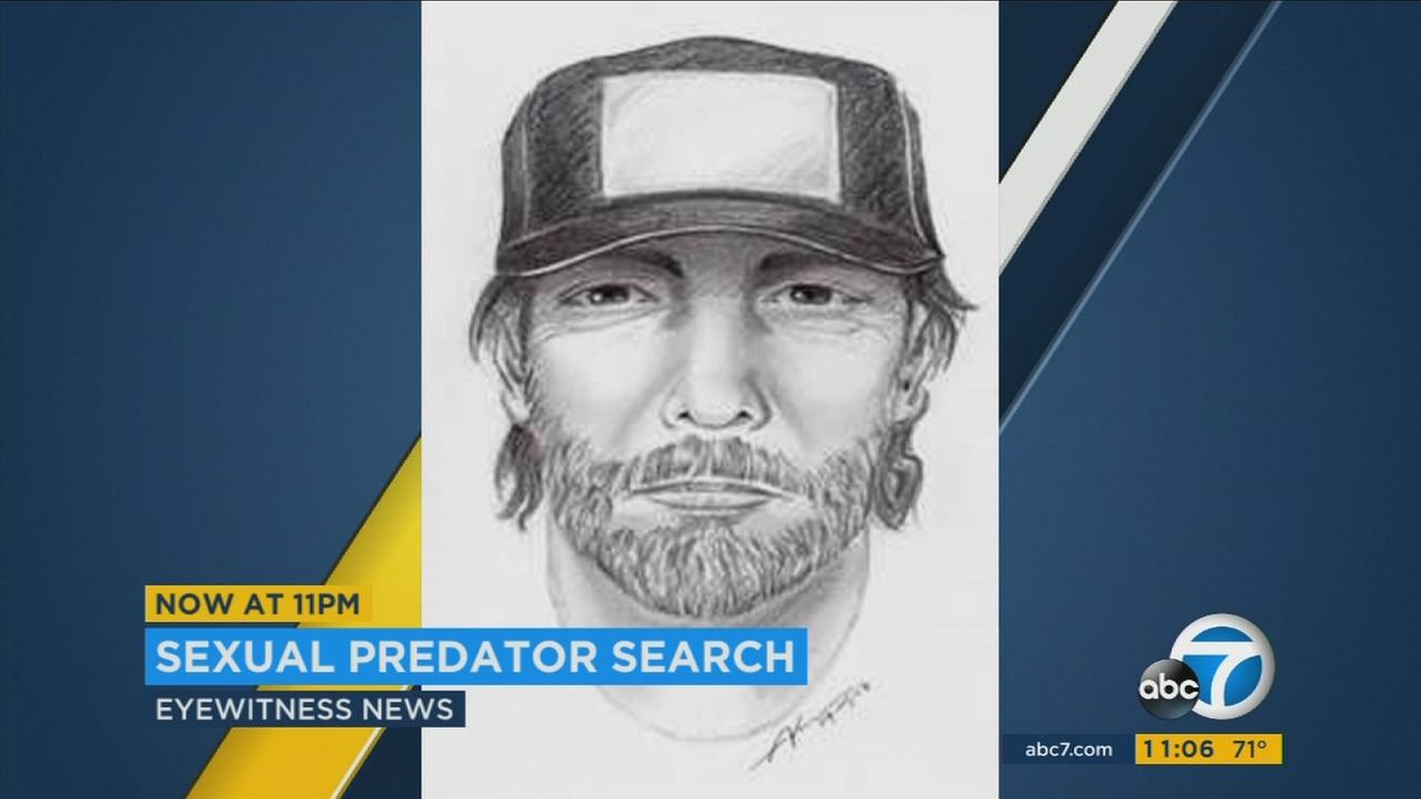 Sketch of a man who reportedly sexually assaulted two women in the Fairfax District neighborhood Monday night.