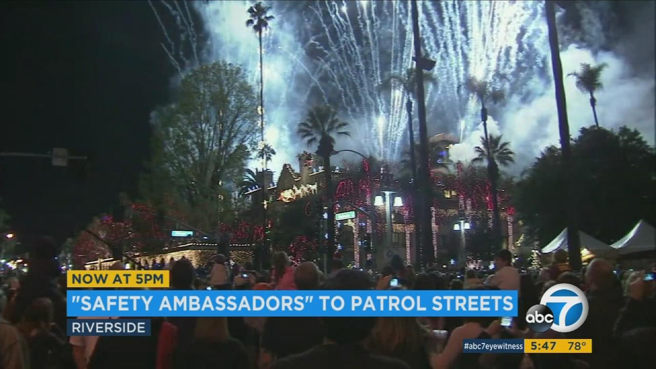 The Inland Empire city is planning to spend nearly $400,000 to hire more than a dozen safety ambassadors to help residents feel safer in its downtown area.
