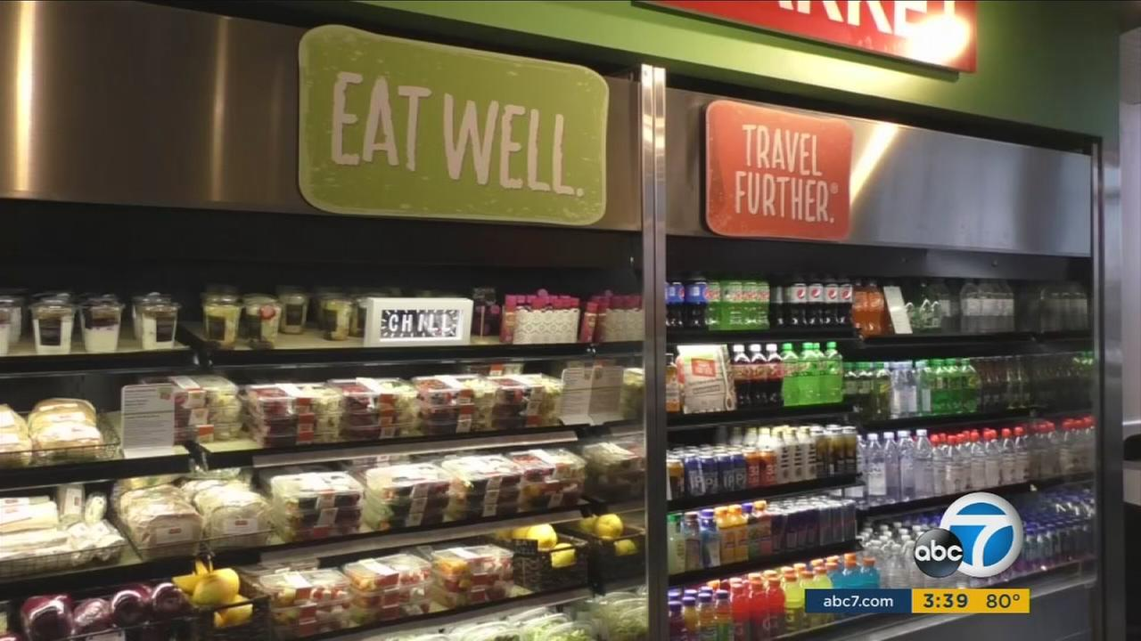 The highway and airport food-service company, HMSHost is attempting to change that with a new line of healthy offerings.