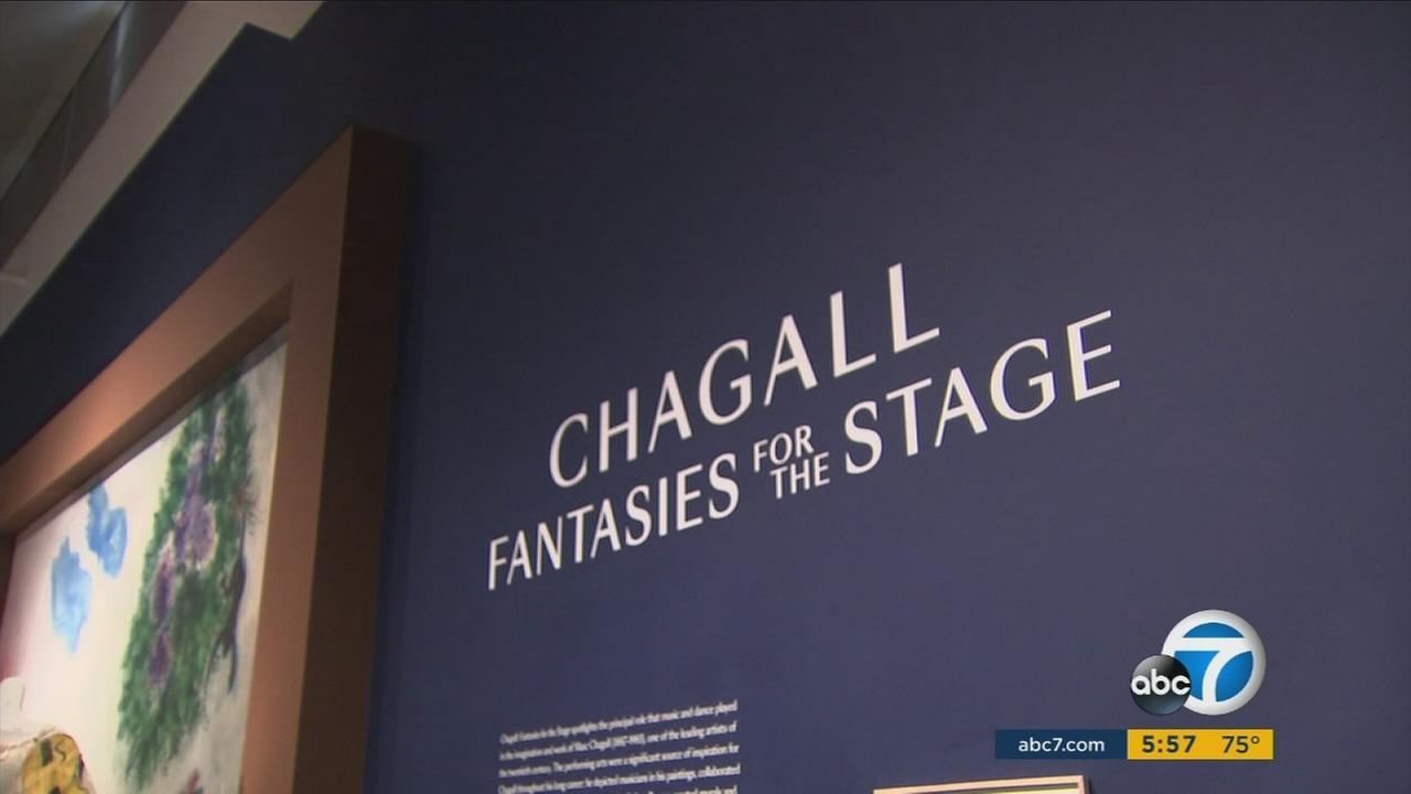 Chagall: Fantasies For The Stage makes its united debut at the LACMA and should give visitors a whole new appreciation for the artist.