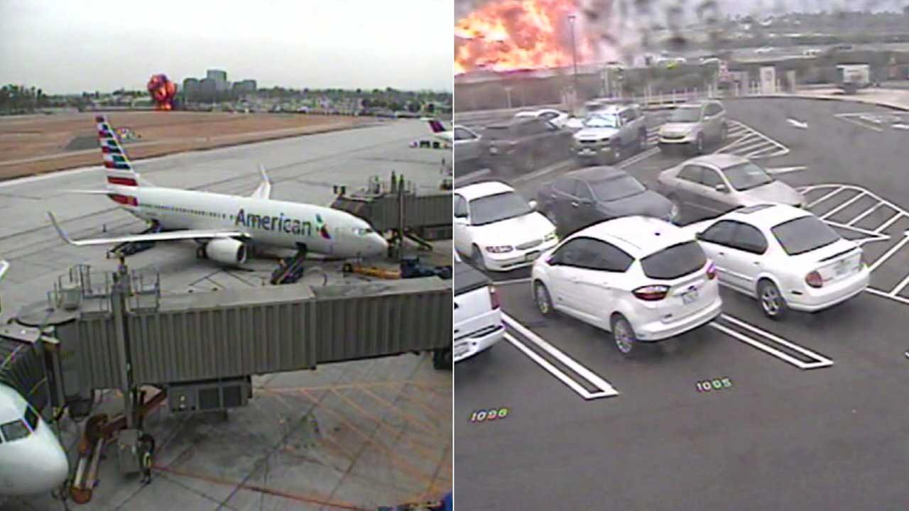 John Wayne Airport released two new videos that show the plane crash that happened on the 405 Freeway in June.
