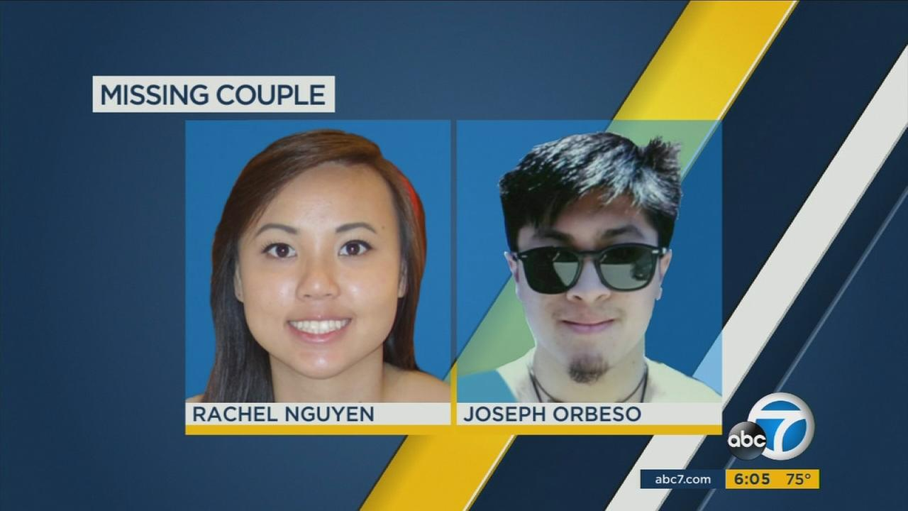 Rescue crews, sheriffs deputies and highway patrol officers are searching for two people who apparently vanished while hiking in Joshua Tree National Park.