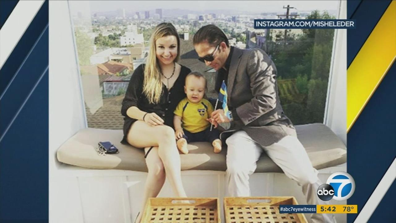 An undated photo of MMA fighter Marcus Kowal, his wife and son, Liam Kowal, who was killed after being struck in Hawthorne Saturday, Sept. 3, 2017.