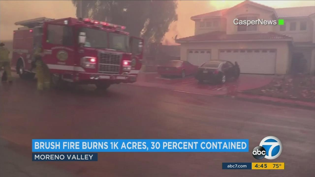 Only one structure suffered minor damage, but an entire neighborhood was left to clean up after Calfire said air tankers dropped fire retardant onto more than a dozen homes.