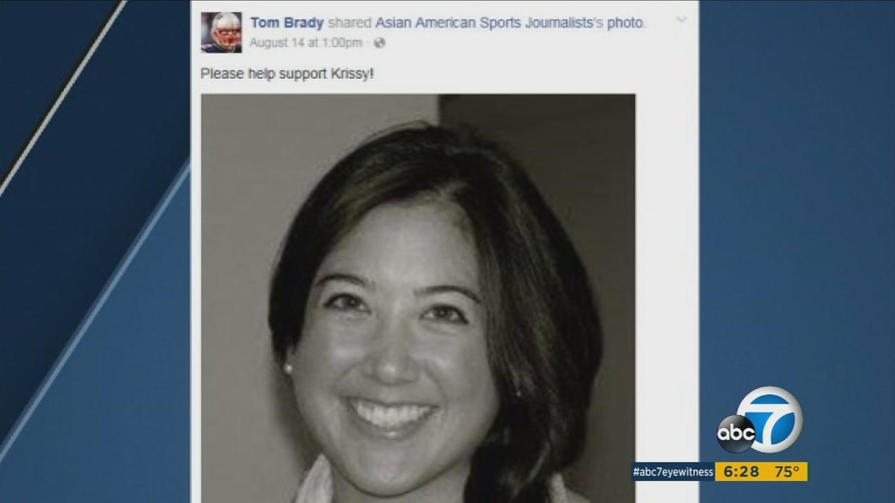 A Facebook post by Tom Brady that helped spread the word about a local womans fight against a bone marrow disease.